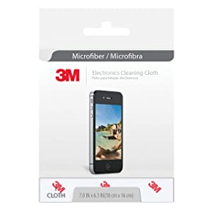 3M Electronics Microfiber Cleaning Cloth (20 Cloths Total)