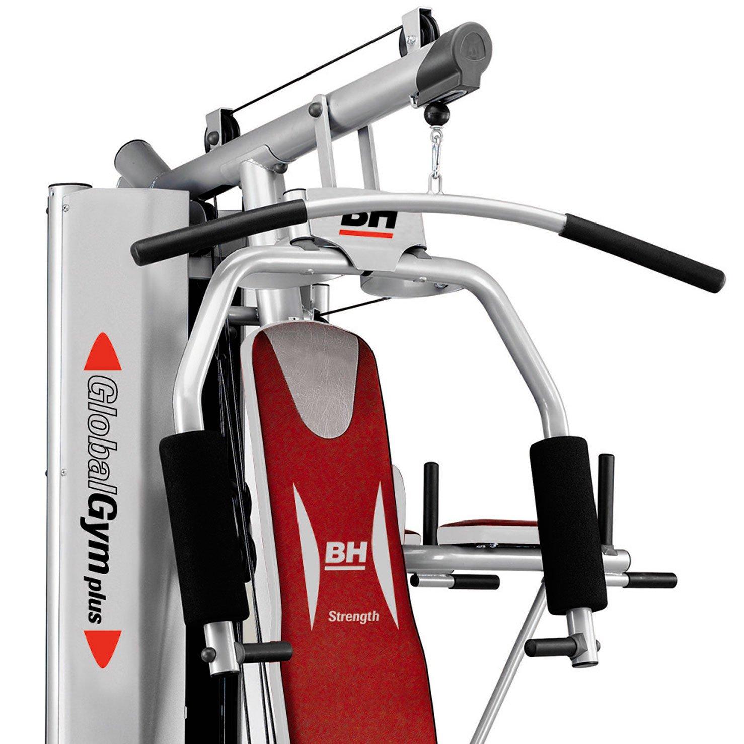 BH Fitness Global Gym Plus – Máquina de fitness, Multiestación, tensión máxima 100 kg