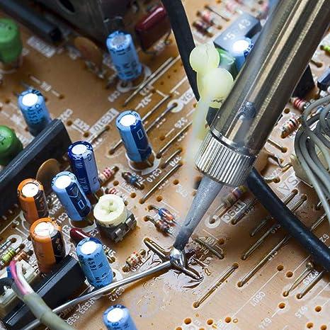 100g Soudure 0.8mm Filets /à souder sans plomb Netspower Soudure tabulaire Fer /à souder Soudure Soudure Sn99.3/% Colophane3/% Cu0.7/%