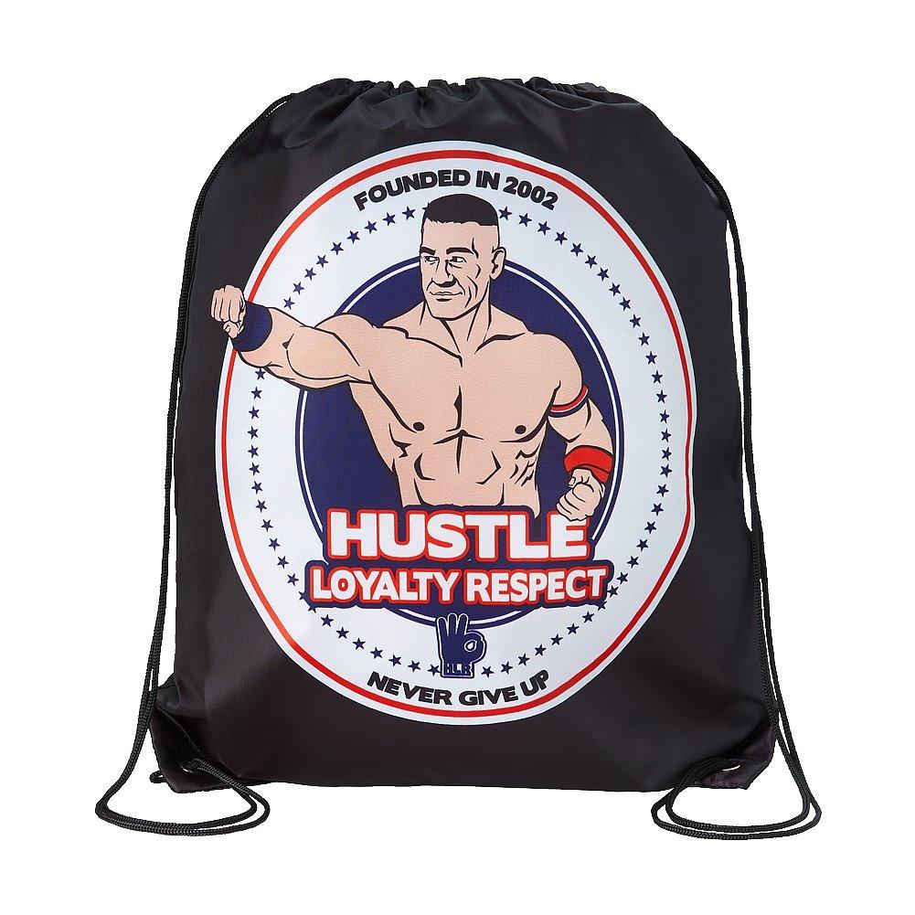 John Cena Hustle Loyalty Respect WWE Drawstring Bag