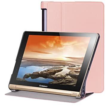 Lenovo Yoga Tab 3 Plus yt-x703 Case Cover, Folio PU Funda de ...