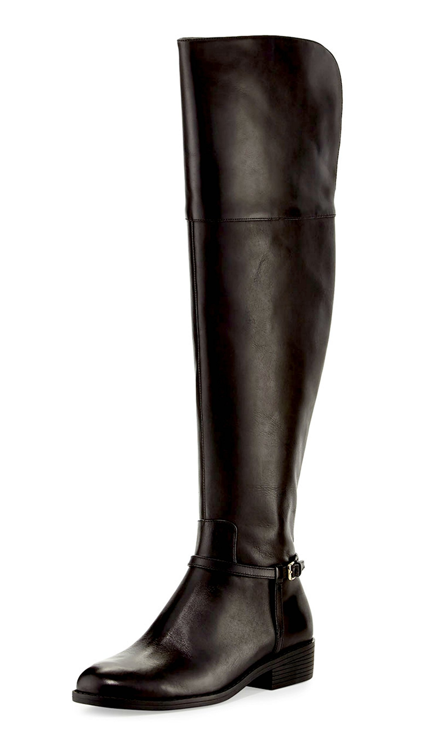 Cole Haan Women's Valentia Over The Knee Boot II Black Shoe by Cole Haan