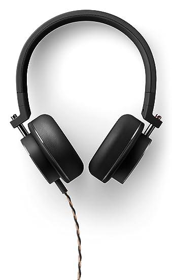 onkyo headphones. Onkyo H500MB High-Resolution On-Ear Headphones With Microphone (40 Mm Power Driver N