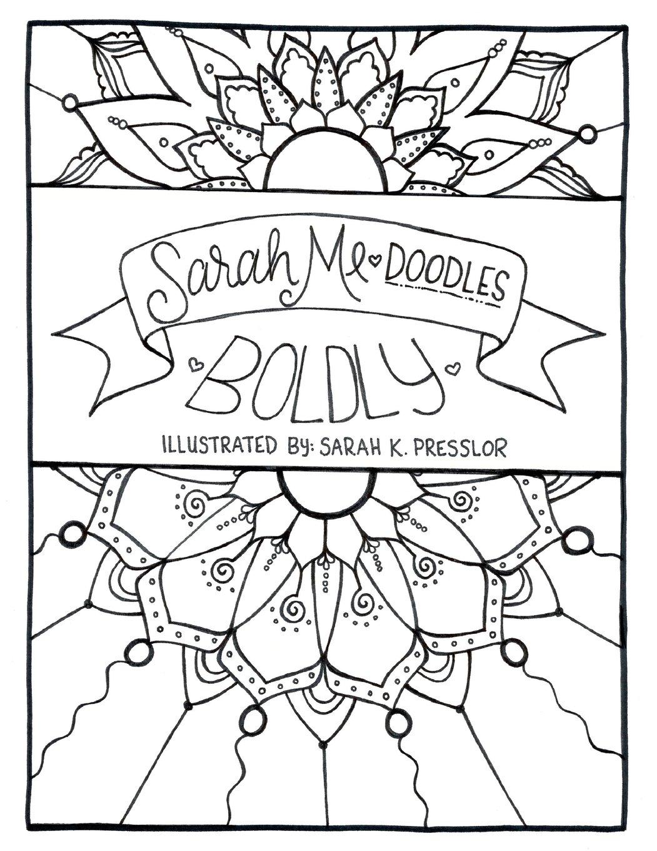 Download SarahMe Doodles Boldly ebook