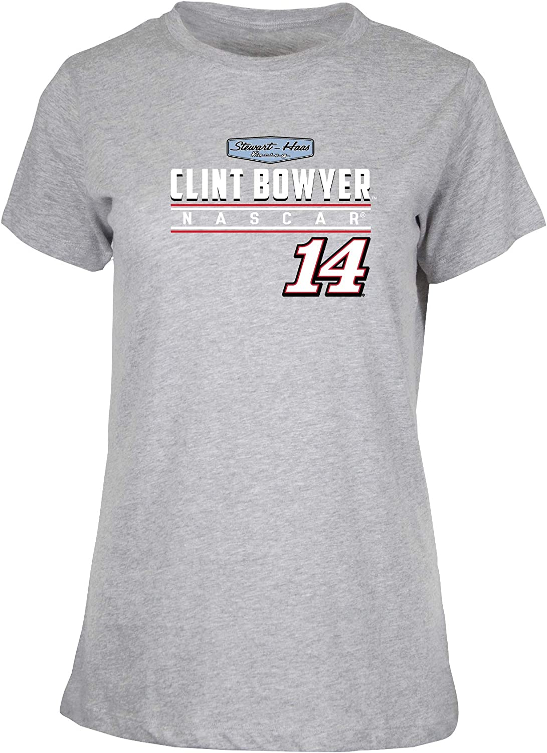 NASCAR Stewart Haas Racing Clint Bowyer Womens W Ouray S//S TW Ouray S//S T