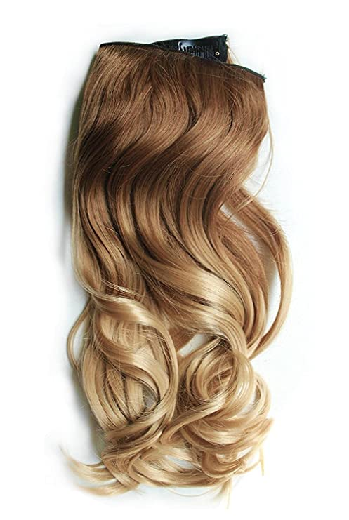 Curly Clip In Hair Extensions Synthetics Hair Extension For Women