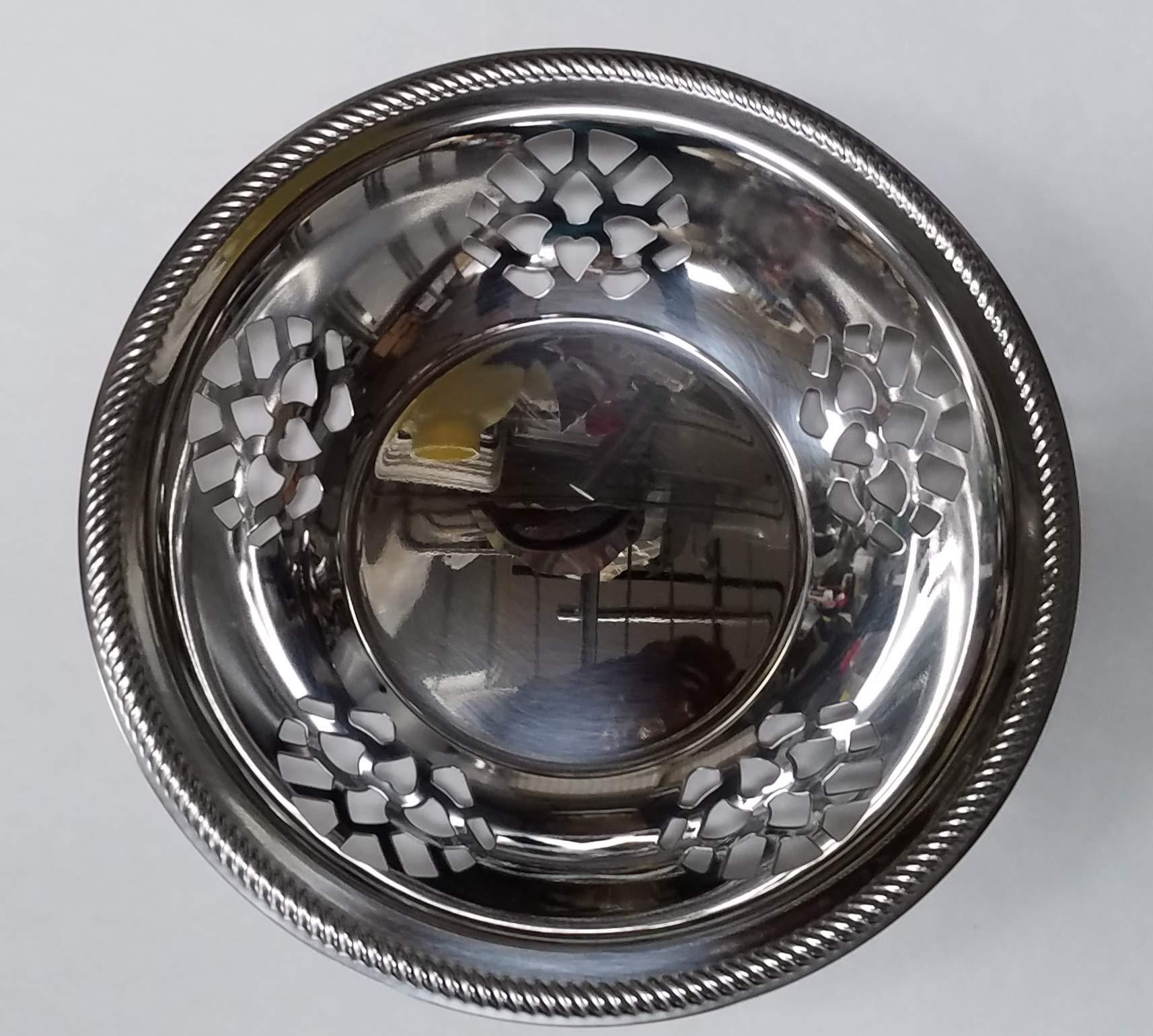 Tramontina San Marco Bread Basket. Stainless Steel, 9''