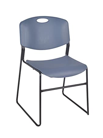 Regency Zeng Stack Chair, Blue