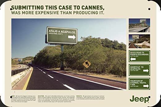 metal poster cartel hojalata signo Jeep: Exit Signs 20x30cm ...