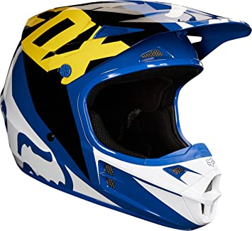 Fox Helmet V de 1 Race, Blue, Tamaño XL