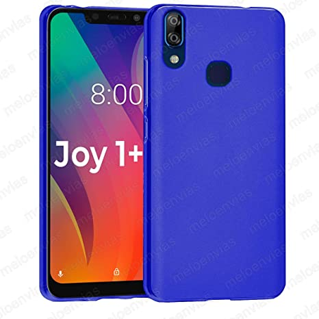 Funda para Vsmart Joy 1 + Plus Gel TPU Lisa Mate Color Azul ...