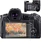 ZLMC EOS R Top +Screen Protector Compatible with EOS R Canon DSLR Camera Anti-scrach Anti-Bubble anti-Water Anti…