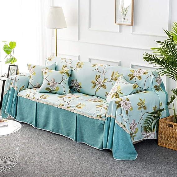 WENYAO Moda Impresa Juego de sofá Muebles para el hogar Cubierta ...