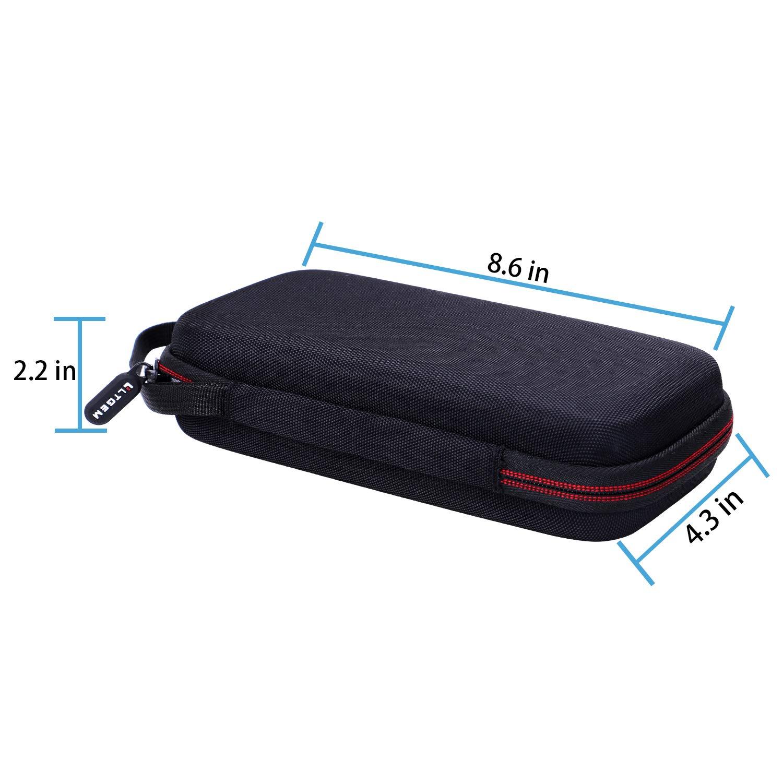 Black LTGEM EVA Hard Carrying Case for Texas Instruments Nspire CX CAS Graphing Calculator