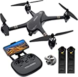 Virhuck GPS RC Drone with Camera 1080P FHD Live Video and GPS Return Home, Virhuck V-6 5G Wi-Fi FPV Quadcopter, Follow Me, Altitude Hold, One Key Start/Landing, Powerful Brushless Motor