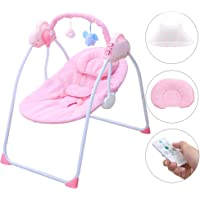 SANPLO Baby Swing Chair Electric Cradle Automatic Bassinet
