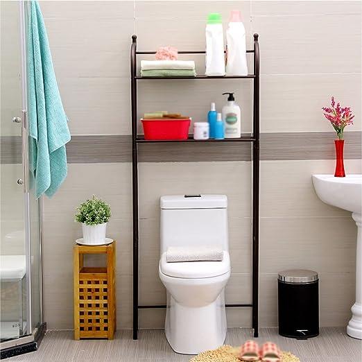 Cuarto de baño Estantes para Inodoro Lavadora Estantes para Pisos ...