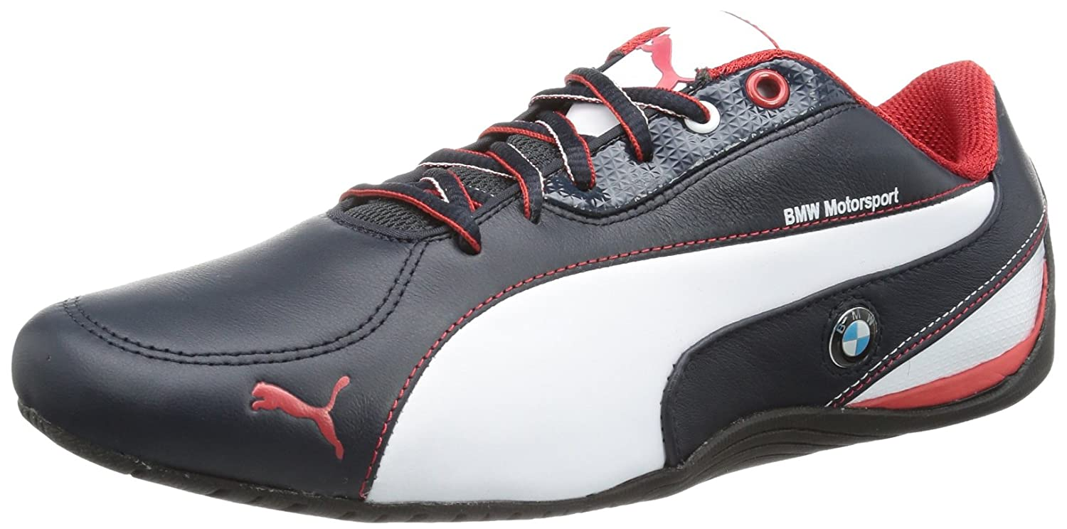 6d64d742283 Puma - Drift Cat 5 BMW L BMW Team Blu - Color  White-Red-Navy Blue - Size   9.0US  Amazon.ca  Sports   Outdoors
