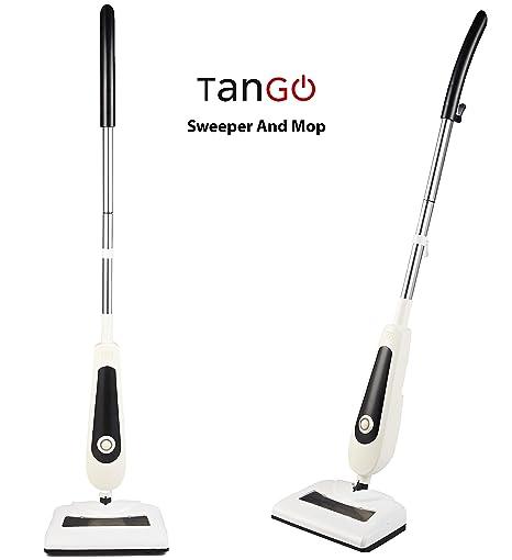 TanGO Sweeper & Mop un 2 en 1 que barre y friega de una sola pasada