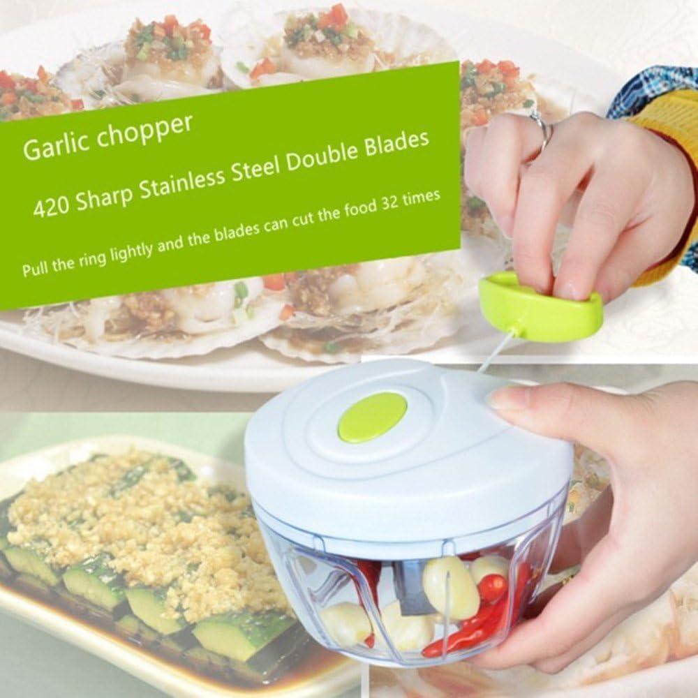 Chopper para comida Manual, Robot de cocina Batidora Licuadora ...