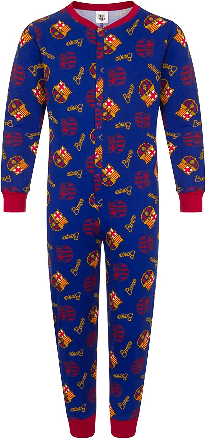 FC BARCELONA Football Pyjamas Set with name /& number Printed on BACK Messi