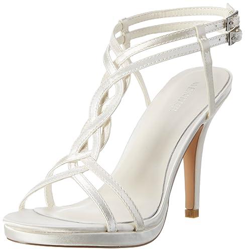 outlet store b1dc4 0c082 Menbur Wedding Women's's Concepcion T-Bar Sandals: Amazon.co ...