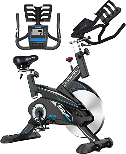 L NOW Exercise Bikes Indoor Cycling Bike Belt Drive Stationary bike