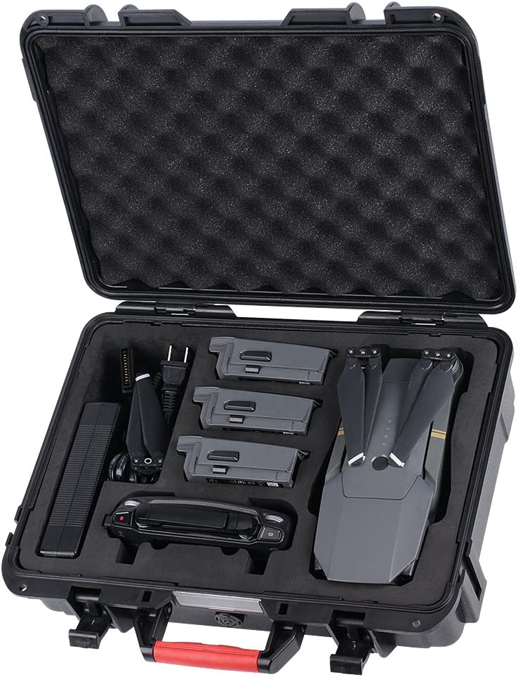 Smatree Waterproof Carrying Case Compatible for Mavic Platinum//DJI Mavic Pro Mavic Fly More Combo(Not fit for Mavic 2 Pro//Mavic 2 Zoom)