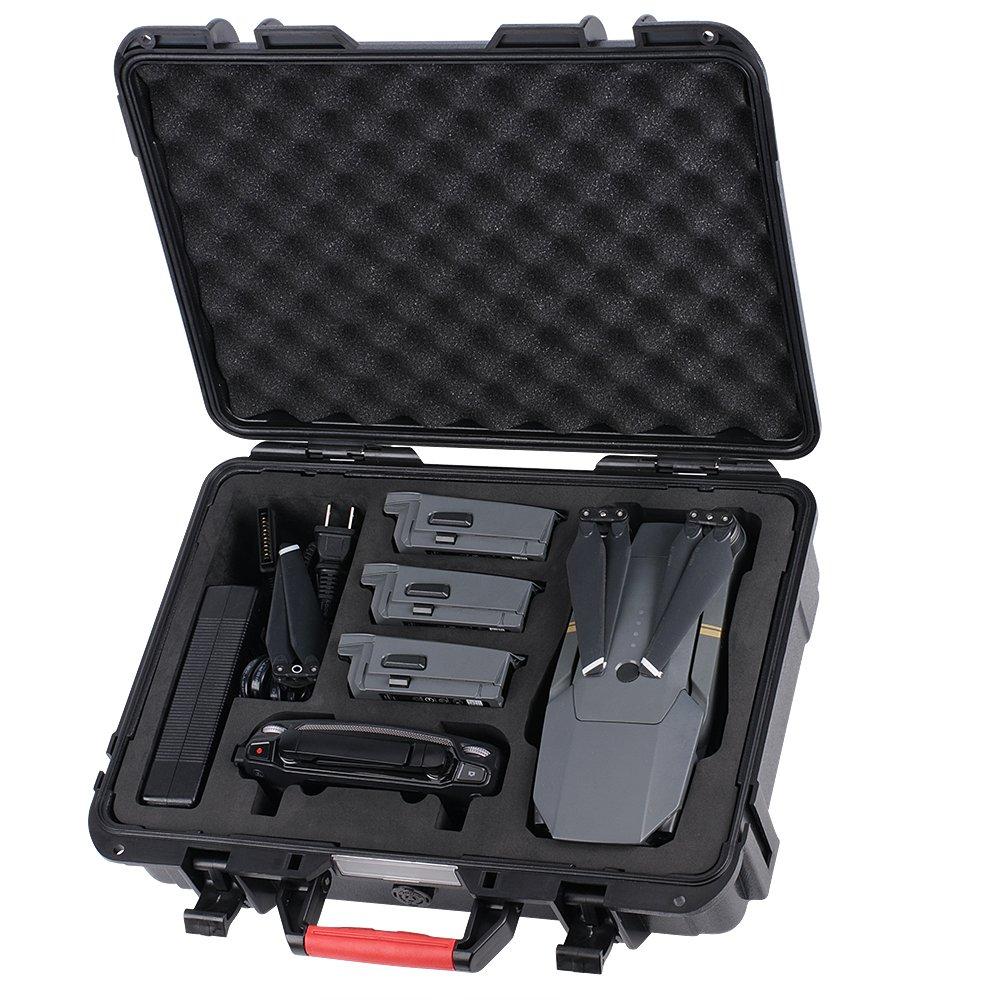Smatree Carrying Case Compatible for DJI Mavic 2 Pro/DJI Mavic 2 Zoom, Waterproof Hard Case for DJI Mavic 2 Fly More Combo