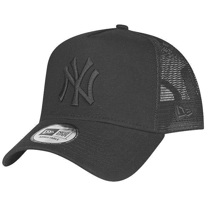 609cc848b4d New Era Essential Jersey E-Frame Baseball Cap (Black - NY Yankees)  Amazon. co.uk  Clothing