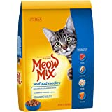 Meow Mix Seafood Medley Dry Cat Food, 14.2 lb