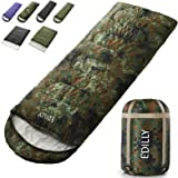 EDILLY Camping 3-4 Seasons Sleeping Bags for Adults and Kids, Warm Cold Weather Lightweight, Portable, Waterproof Backpacking