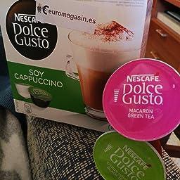 Nescafé Dolce Gusto soja capuchino, Café con leche de soja, soy ...