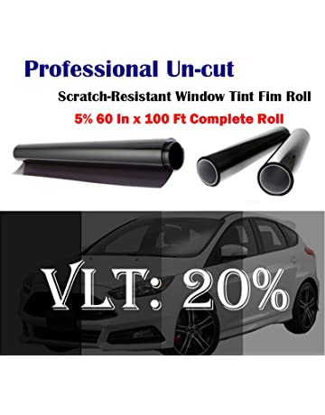 Mkbrother Uncut Roll Window Tint Film 20% VLT 60