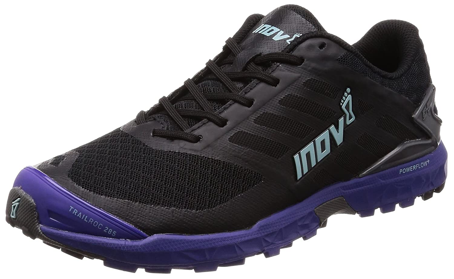 Inov-8 Women's Trailroc 285 Running Shoe B01N5VD9B8 8.5 B(M) US|Black/Purple/Blue