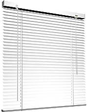 VICTORIA M Store vénitien en aluminium pour fenêtres et portes - montage sans pré-perçage, clips de serrage inclus -Dimensions et couleurs au choix