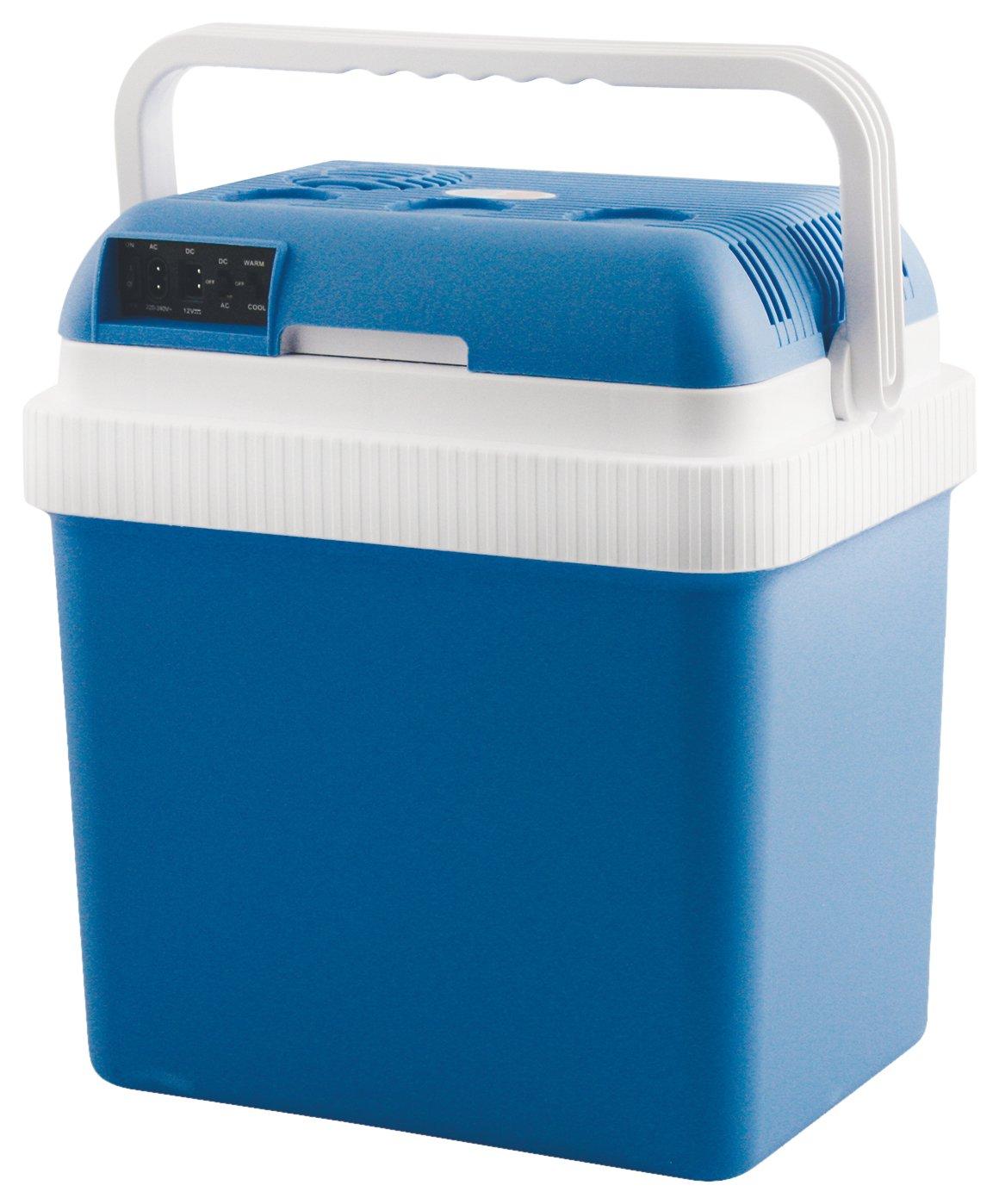 Kooper 2410852 Kühlbox Warm/Kalt, 24 LT, 50 W, Blau FROT