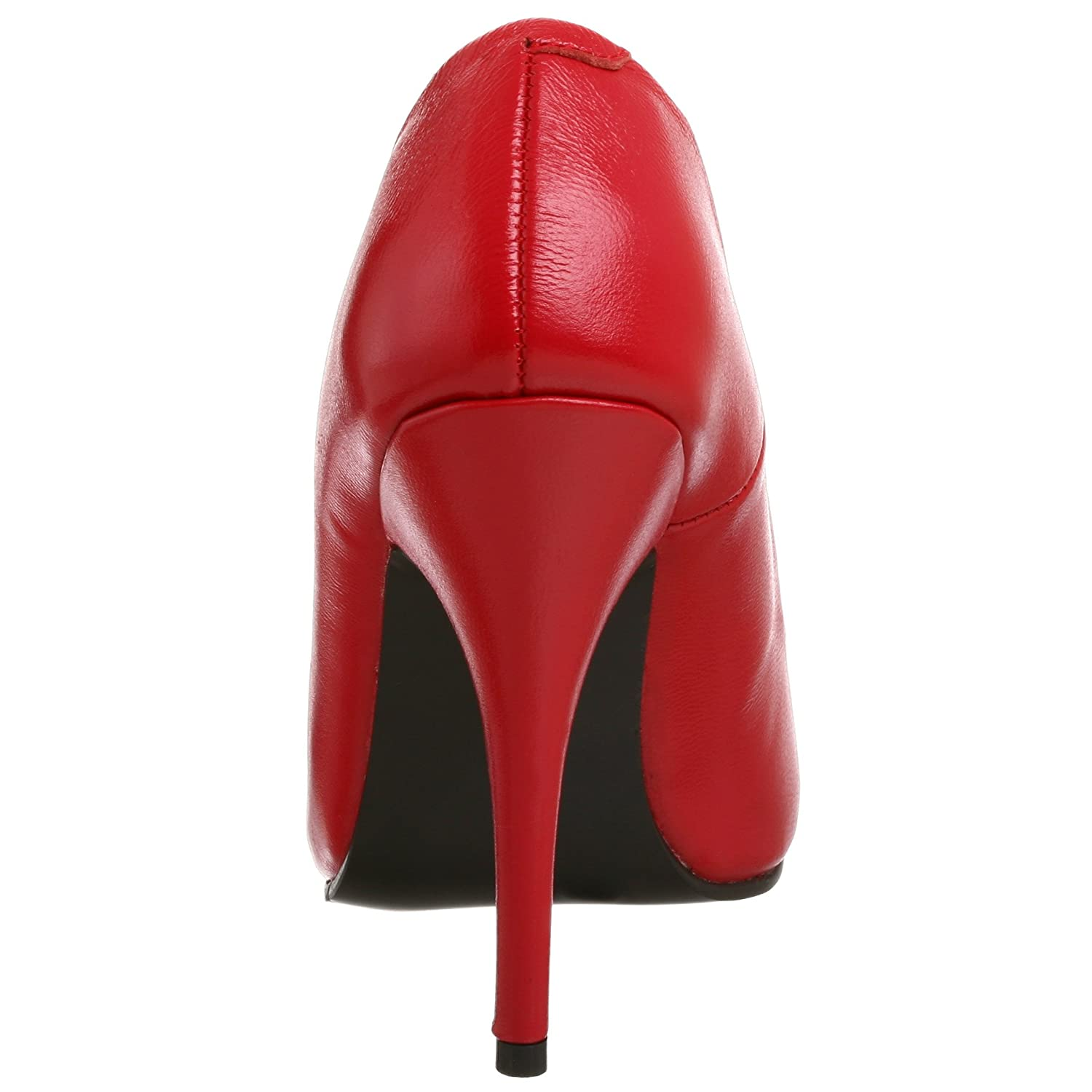 Pleaser SEDUCE-420 SEDUCE-420 Pleaser Damen Pumps Leder Rot 6f6898