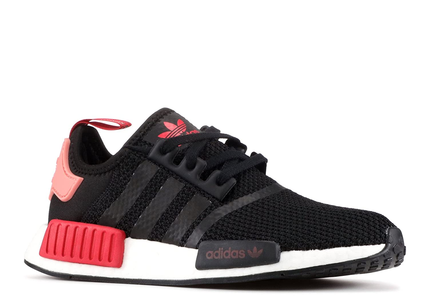 Core Black-Tactile pink-Red Adidas Originals NMD_R1 shoes Women's Casual Black