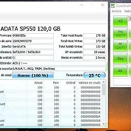 ADATA SP550 120 GB Serial ATA III 2.5