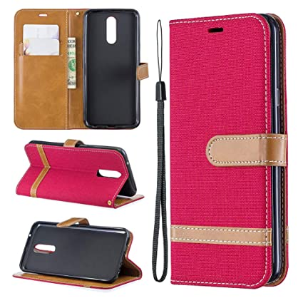 Amazon.com: Toms Village - Funda tipo cartera para LG K40 ...