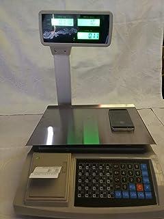 balanza bascula 3 vendedores nueva con impresora de ticket y 10000 ...