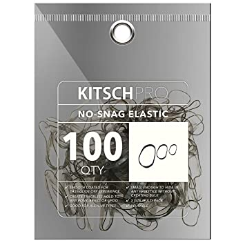 Amazon.com   Kitsch Pro No Snag Mini Gummy Elastic Hair Bands For Hair  Styling 1bb40f014a6