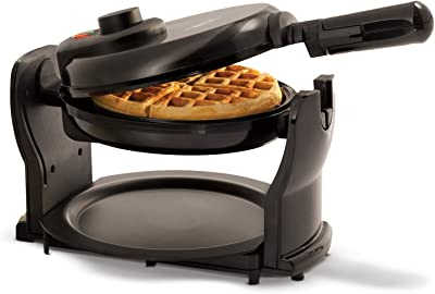 BELLA Classic Rotating Non-Stick Belgian Waffle Maker