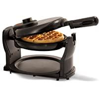 "BELLA Classic Rotating Non-Stick Belgian Waffle Maker, Perfect 1"" Thick Waffles, PFOA Free Non Stick Coating & Removable…"