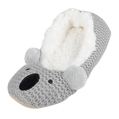 90351aea2c SlumberzzZ , Damen Hausschuhe Koala: Amazon.de: Schuhe & Handtaschen