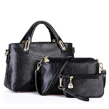 Bolso, Manadlian Mujer Bolso Bolsas de hombro Bolso de mano Cuero Messenger Hobo Bag (