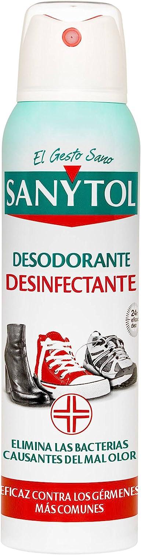 Sanytol Desodorante Calzado Desinfectante Spray - 150 ml