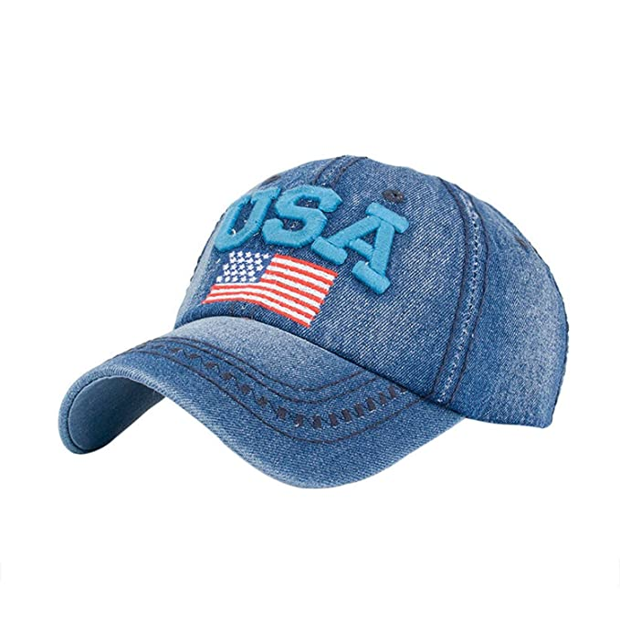 2019 Men Women Cap Baseball Cap Adjustable Snapback Embroidery Letter USA Hip Hop Sun Hat Gorras