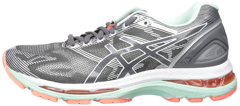 ASICS Women's Gel-Nimbus 19 US|Carbon/White/Flash Running Shoe B01GSXJS9Q 6.5 2A US|Carbon/White/Flash 19 Coral 16f761